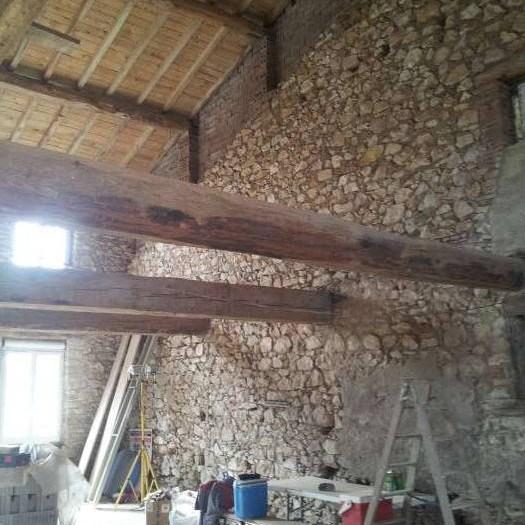 2013 renovation corps de ferme saint avit 81110 for Renovation corps de ferme