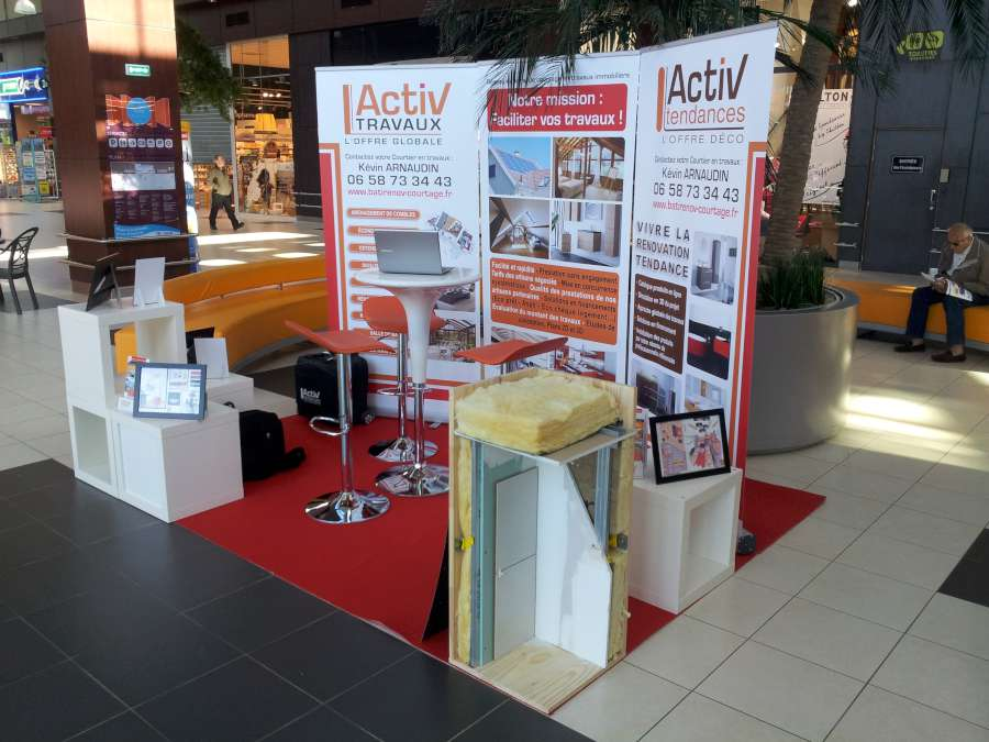 Activ travaux participera au salon de l habitat de leclerc for Salon de the albi