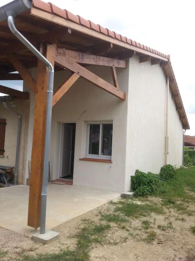 Construction extension de maison 81370 saint sulpice for Construction extension maison